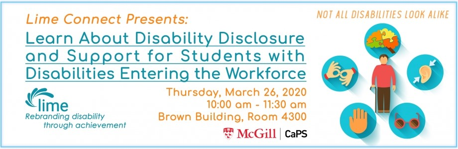 Learn About Disability Disclosure and Support for Students with Disabilities Entering the Workforce