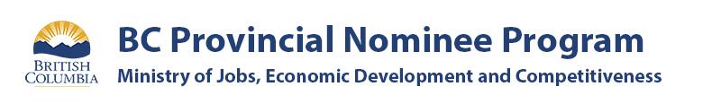 BC PNP provincial logo