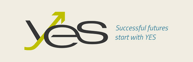 Banner for YES Montreal, Successful futures start with YES