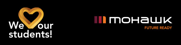 We love our students and Mohawk College logos
