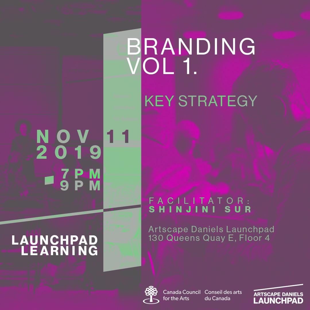 LaunchPad Branding Volume 1 Workshop
