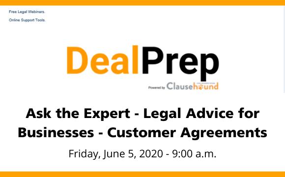 Clausehound Deal Prep