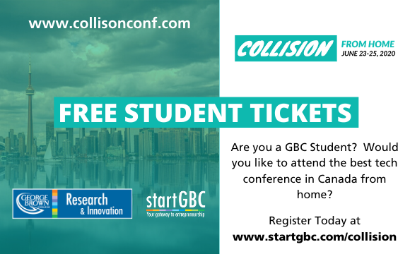 Collision Tech Conference Free Student Tickets