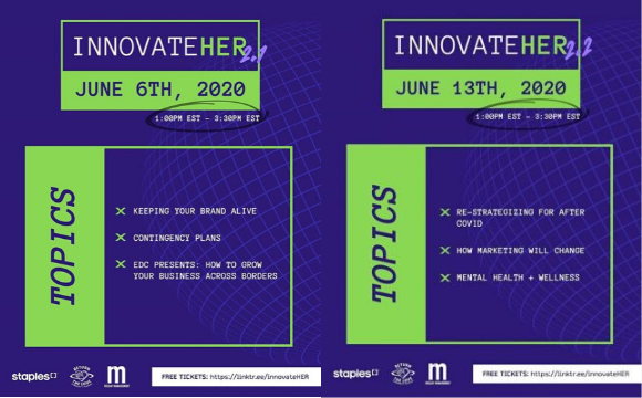 InnovateHER 2.1 and 2.2