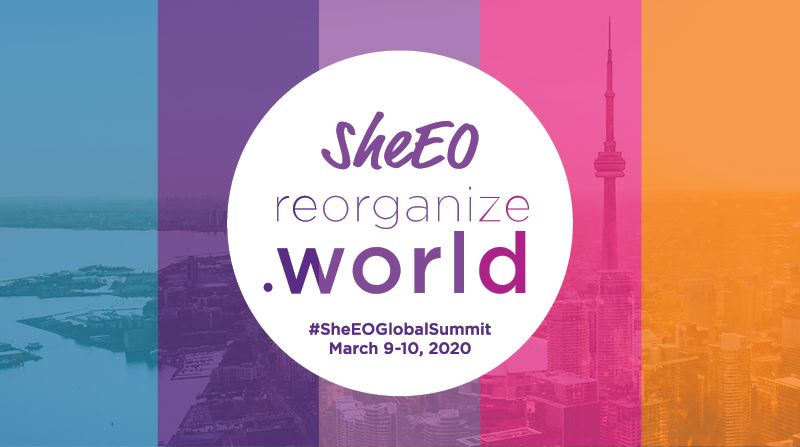 sheEO World Summit March 9-10, 2020