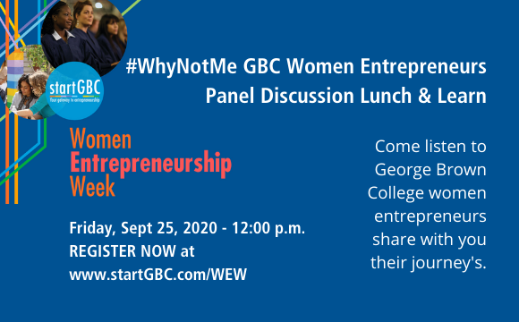 WEW #WhyNotMe Women Entrepreneur Panel Discussion