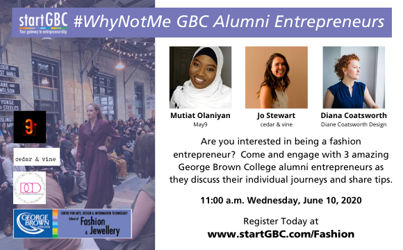startGBC #WhyNotMe Alumni Entrepreneurs Panel