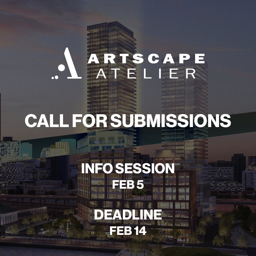 Artscape Atelier Call for Artists