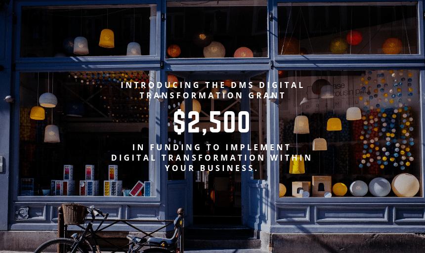 Digital Main Street Digital Transformation Grant