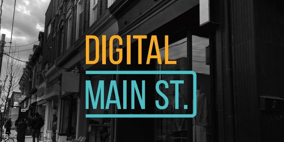 Digital Main St. Poster