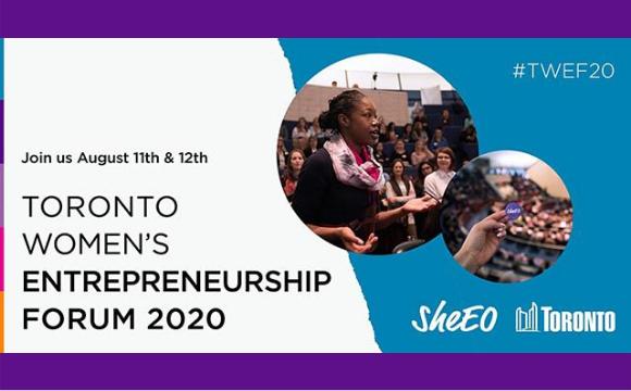 SheEO Women Entrepreneurship Forum 2020