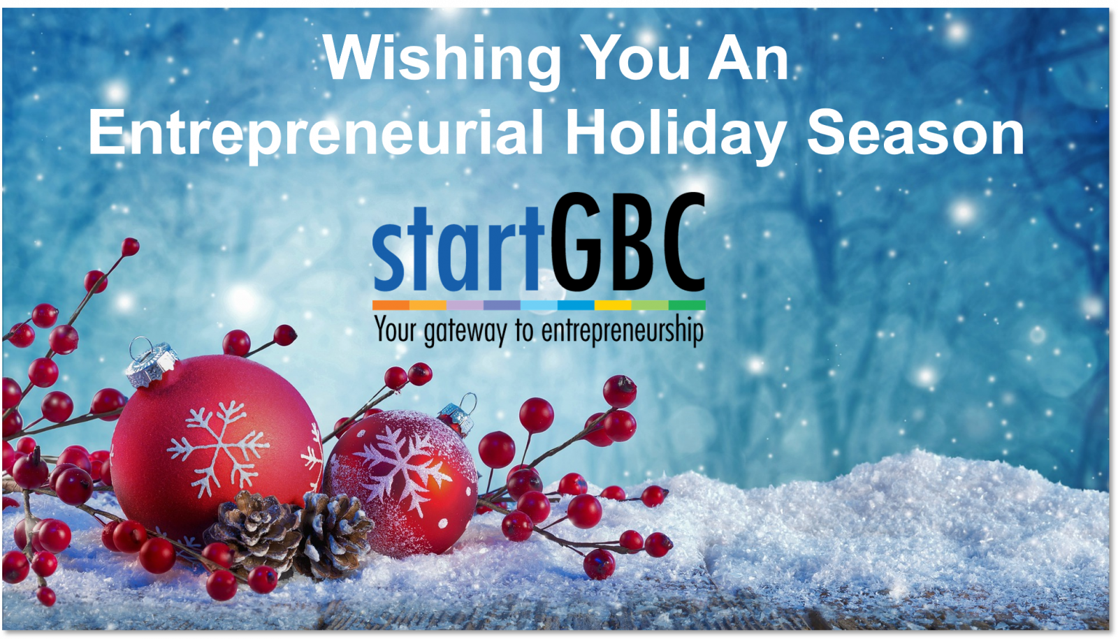 Season Greetings from startGBC