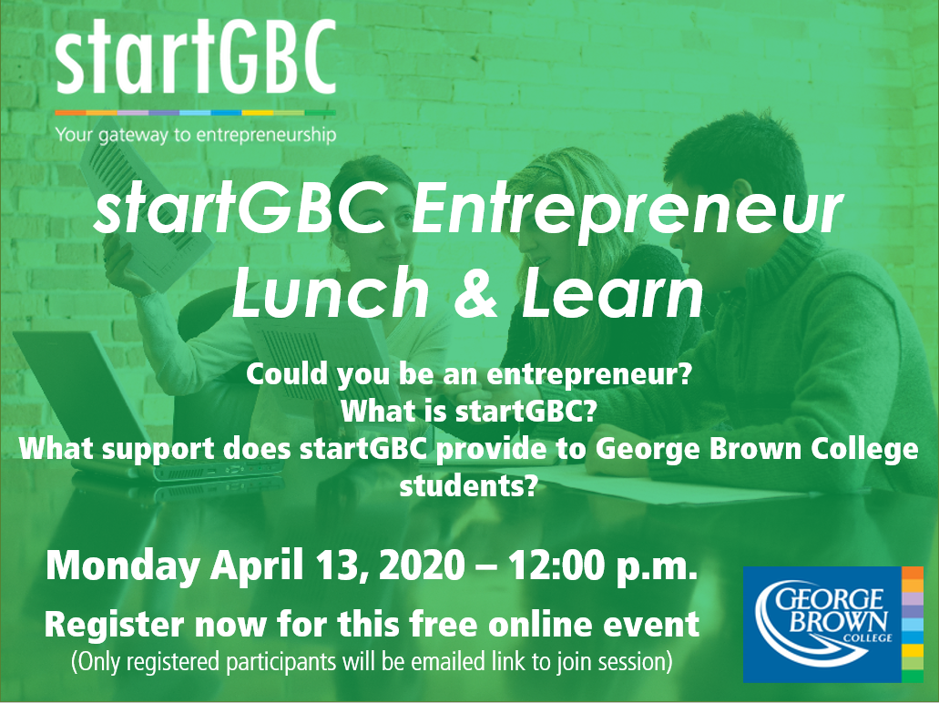 startGBC Lunch and Learn