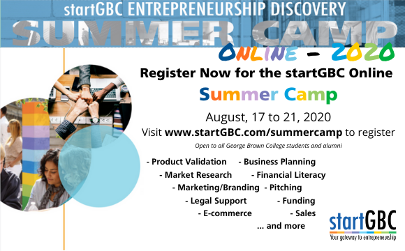 startGBC Summer Camp Registration