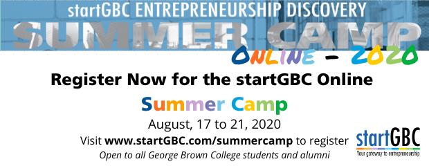 startGBC Entrepreneur Discovery Summer Camp
