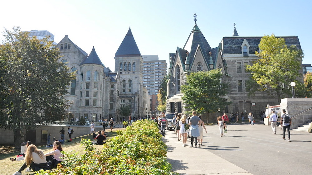 Image of McGill Campus During Summer