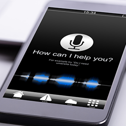 Voice activated app