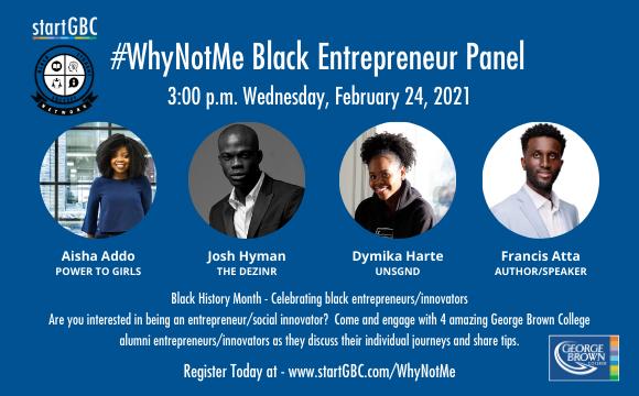 #WhyNotMe Black Entrepreneur Panel
