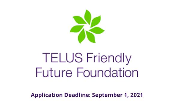 TELUS Friendly Future Foundation Funding