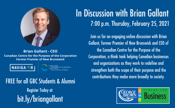 In Discussion with Brian Gallant