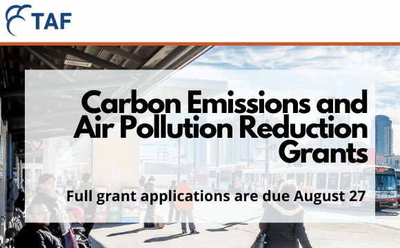TAF Carbon Emissions and Air Pollution Reduction Grants