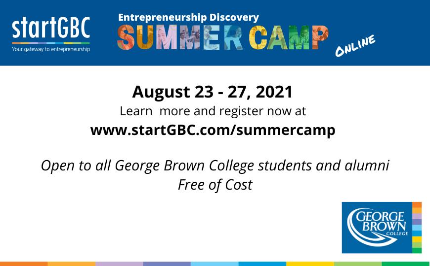 startGBC Summer Camp 2021
