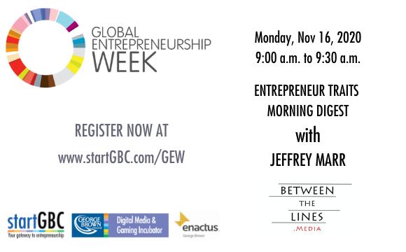 Global Entrepreneurship Week Entrepreneur Traits