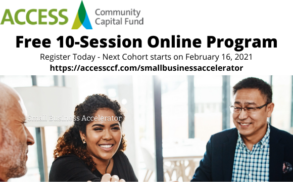 Access Community Capital Fund Small Business Program