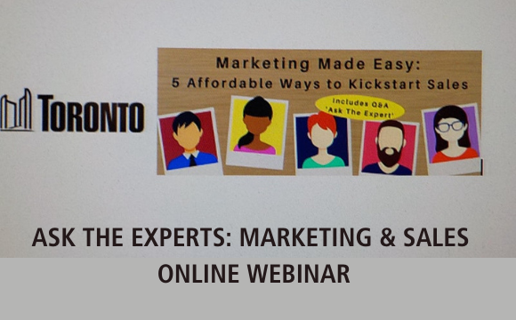 Ask the Experts: Marketing & Sales Webinar