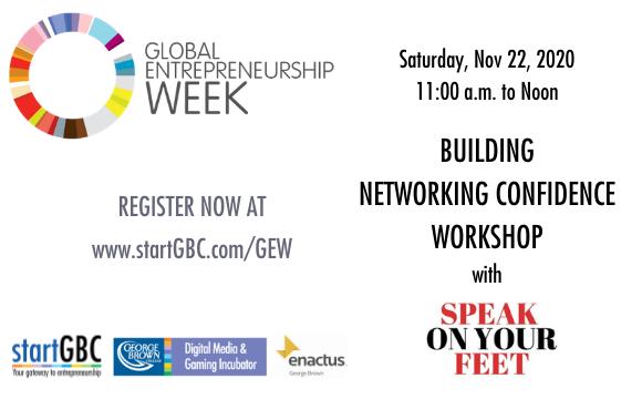 Global Entrepreneurship Week at George Brown College