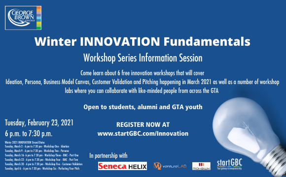 Innovation Fundamentals Workshop Series