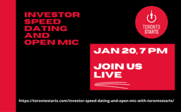 Toronto Starts Investor Speed Dating