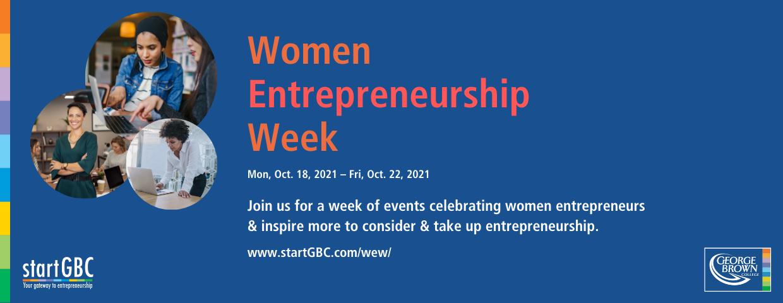 startGBC Women Entrepreneurship Week