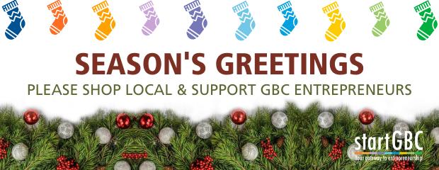 Seasons Greetings from startGBC Logo