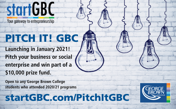 PITCH IT GBC Competition Launch Logo