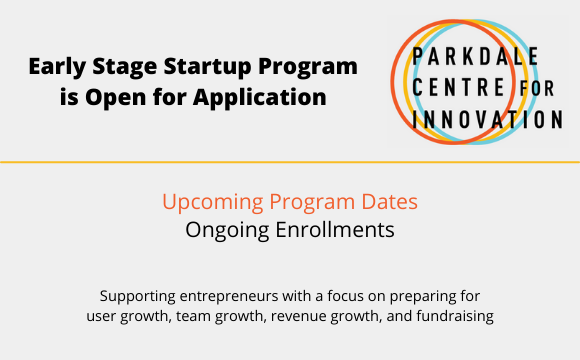 Early Stage Startups Program