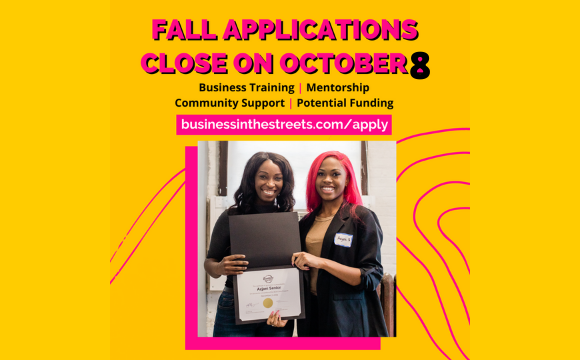 Business in the Streets' 2021 Virtual Fall Programs