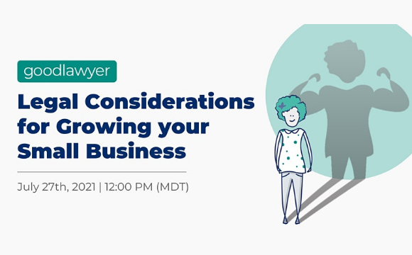 Legal Considerations for Growing your Small Business