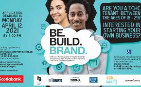 Be Build Brand Poster_Application Deadline April 12