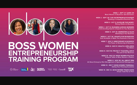 Boss Women Entrepreneurship BootCamp