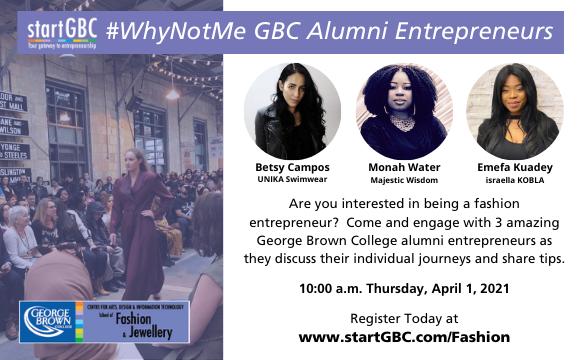 Why Not Me_GBC Alumni Entrepreneurs