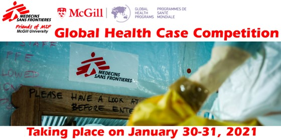 Friends of MSF Annual Case Competition Flyer